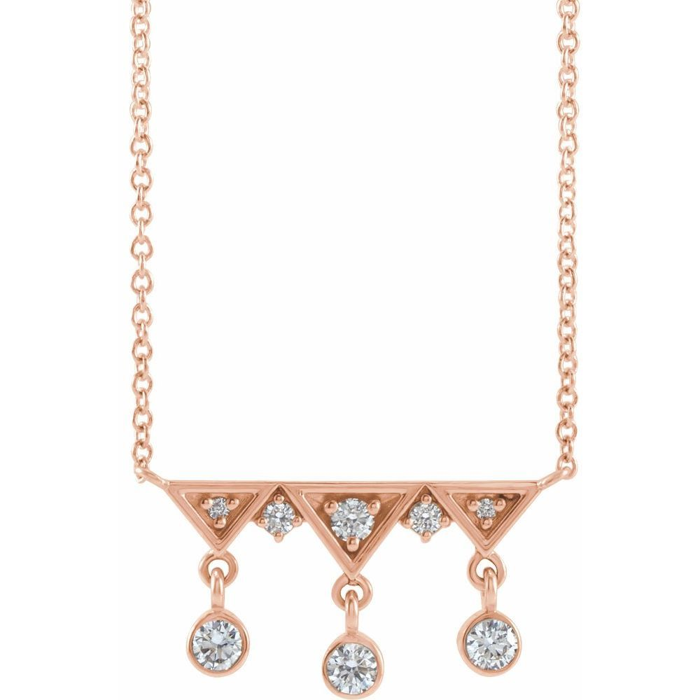 1/5 Ctw Diamond Fringe Necklace (17470586)