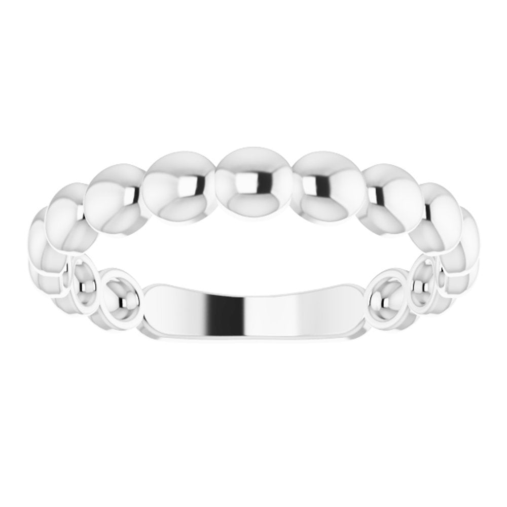 Beaded Stackable Ring (12370104)