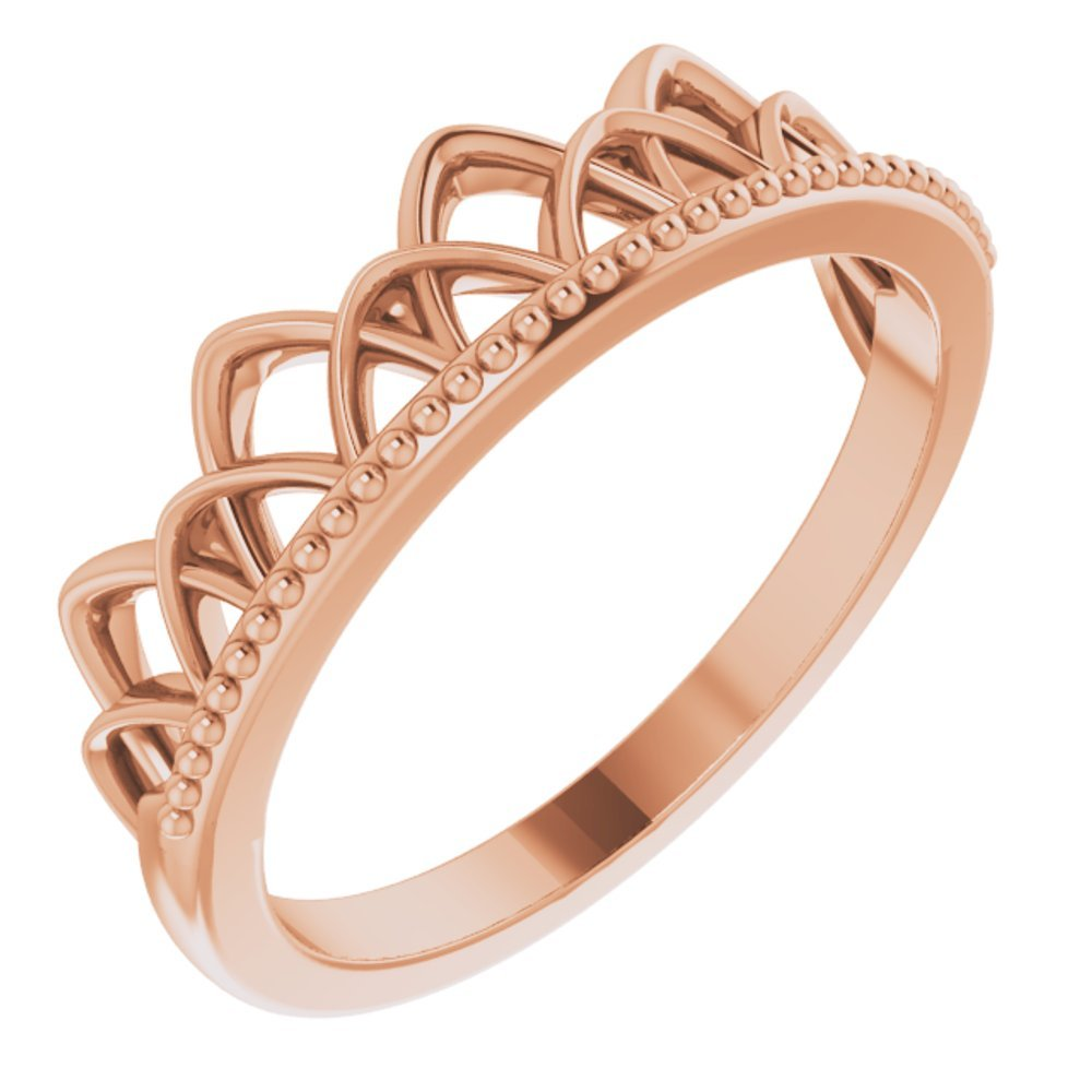 Stackable Crown-Inspired Ring (13697342)