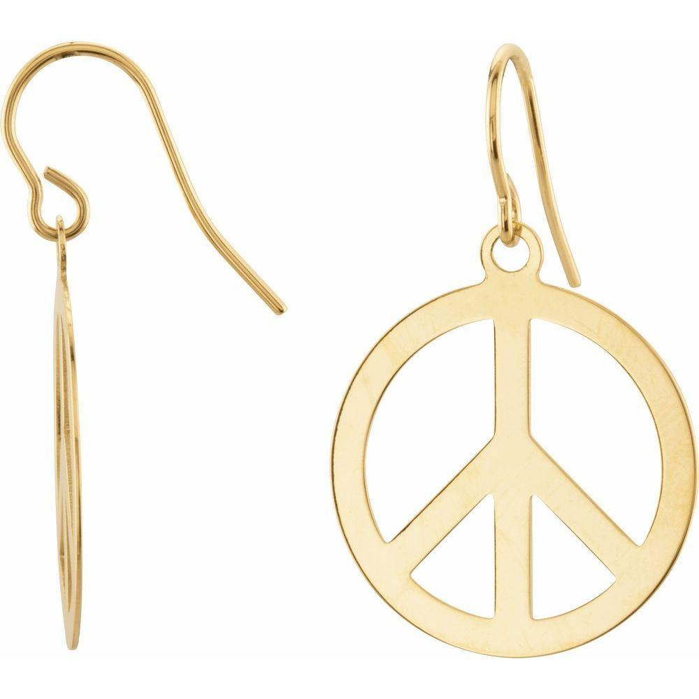 21.00 mm Circle Peace Sign (3259355)