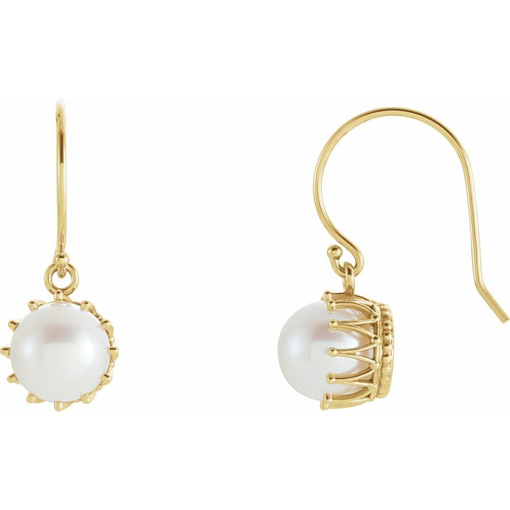 Freshwater Cultured Pearl Earrings (9291341)