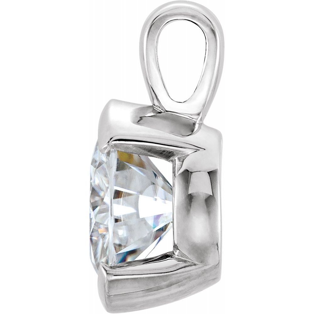 Forever One Colorless Created Moissanite Pendant (12816071)