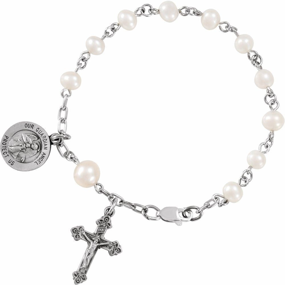 Our Guardian Angel Rosary Bracelet (112934)
