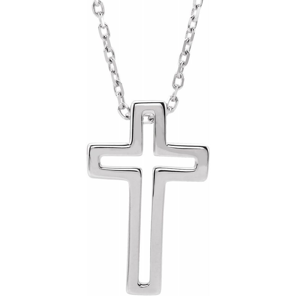 Open Cross Necklace (13026633)