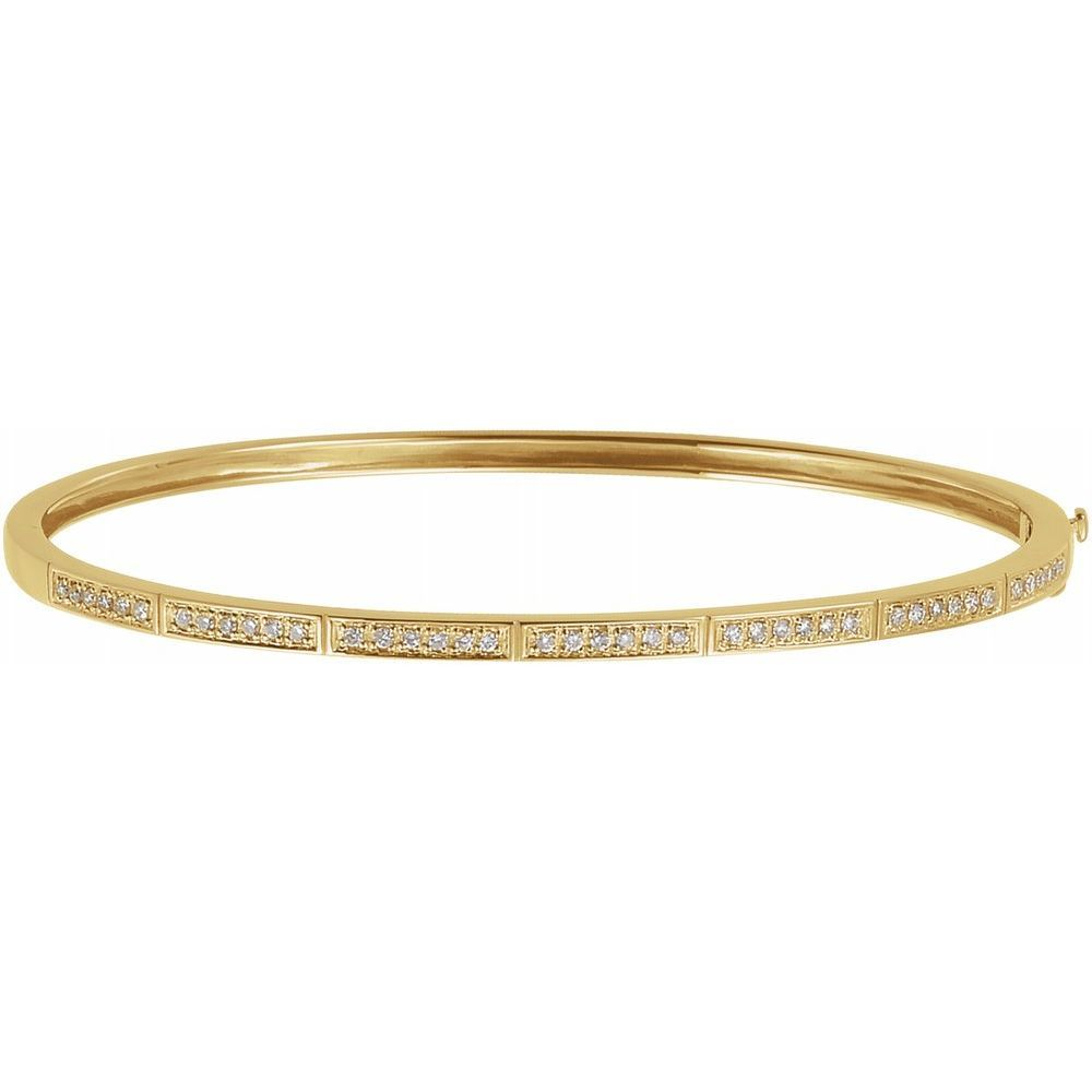 1/3 Ctw Diamond Bangle Bracelet (1675191)