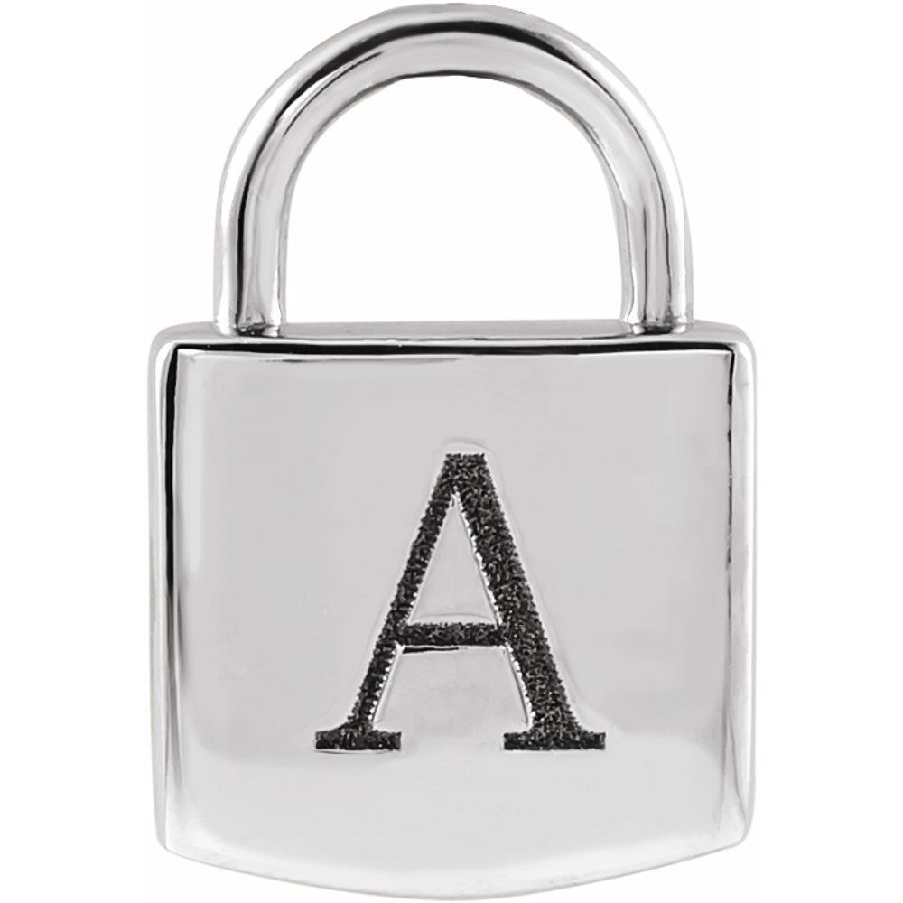 Engravable Lock Pendant (1001286292)