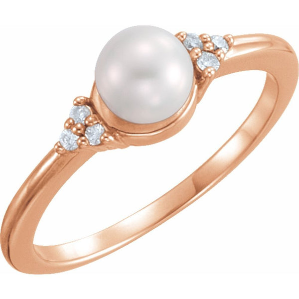 Women's Pearl Rings