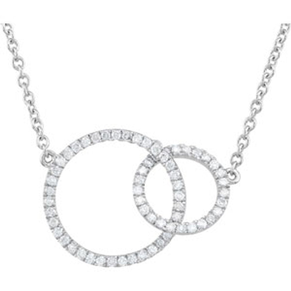 1/3Ctw Dia Necklace (3267221)