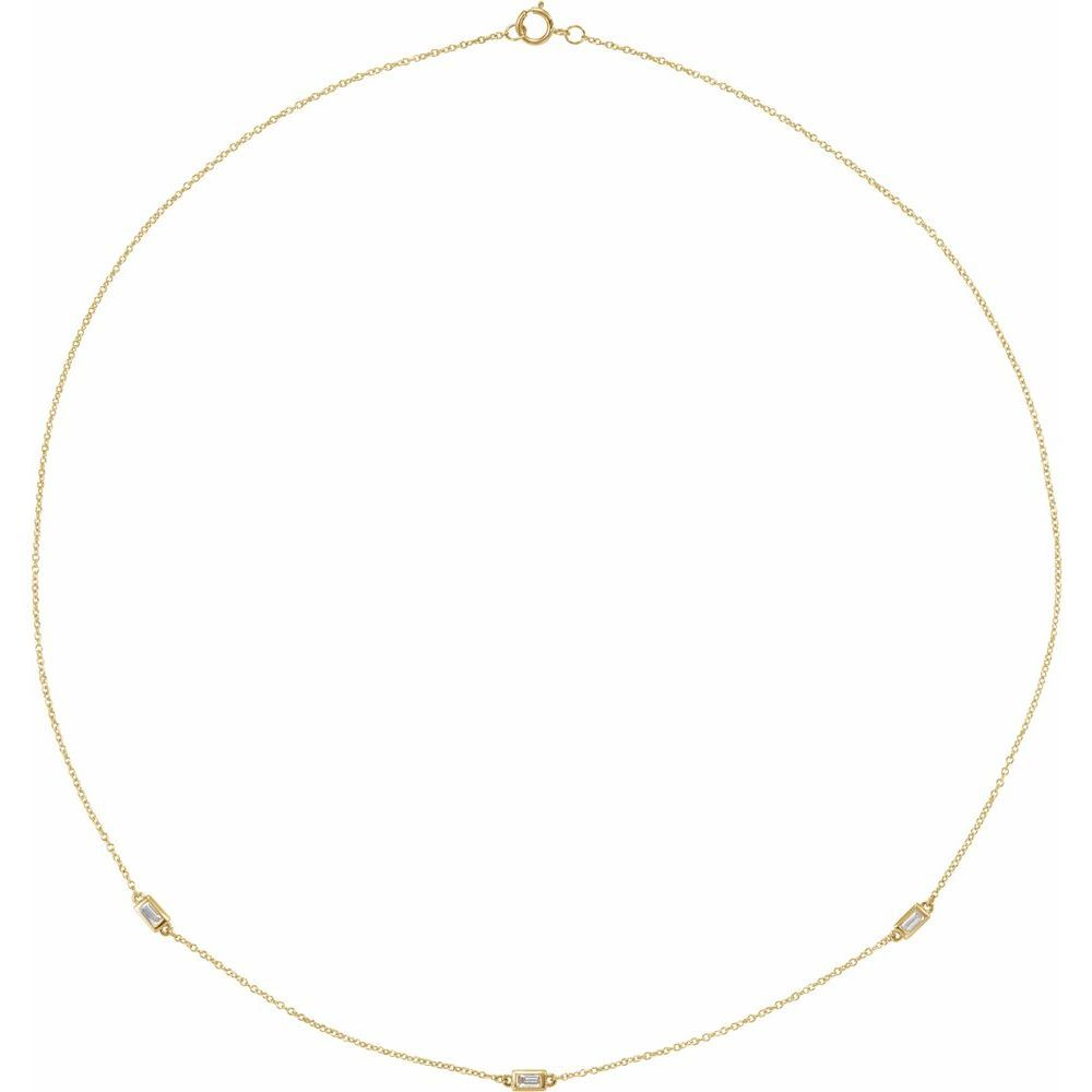 1/5 Ctw Diamond 3-Station Necklace (16905197)