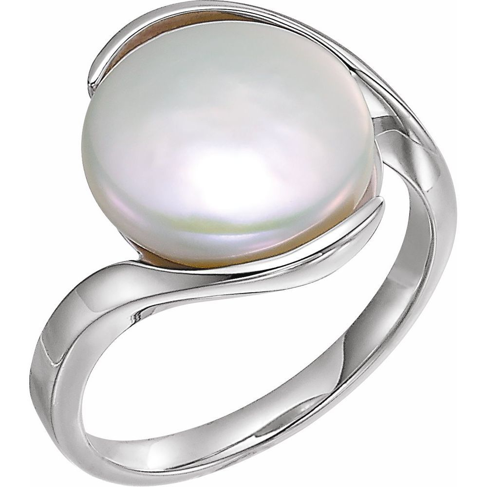 Fw Cult White Coin Pearl Ring (2696166)