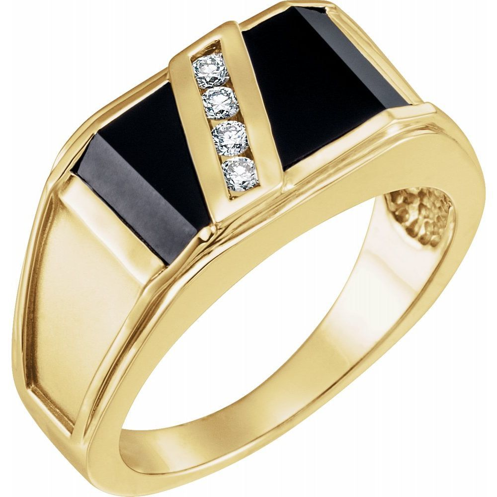 Accented Bezel-Set Ring (212117)