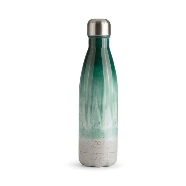 Rebottle, ceramic, green