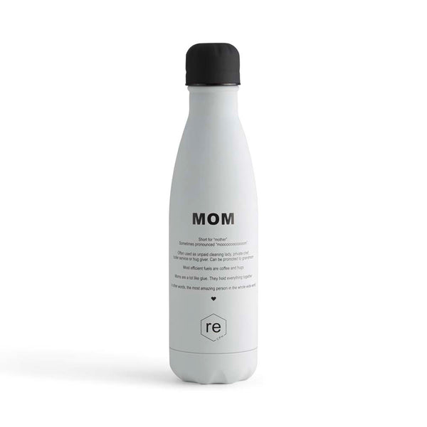 Rebottle, mom statement, white