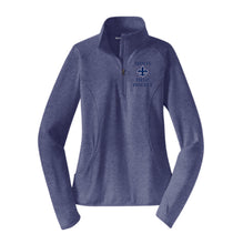 Load image into Gallery viewer, STA Field Hockey Dri-Fit 1/4 Zip Pullover Women's Cut EMBROIDERED LOGO