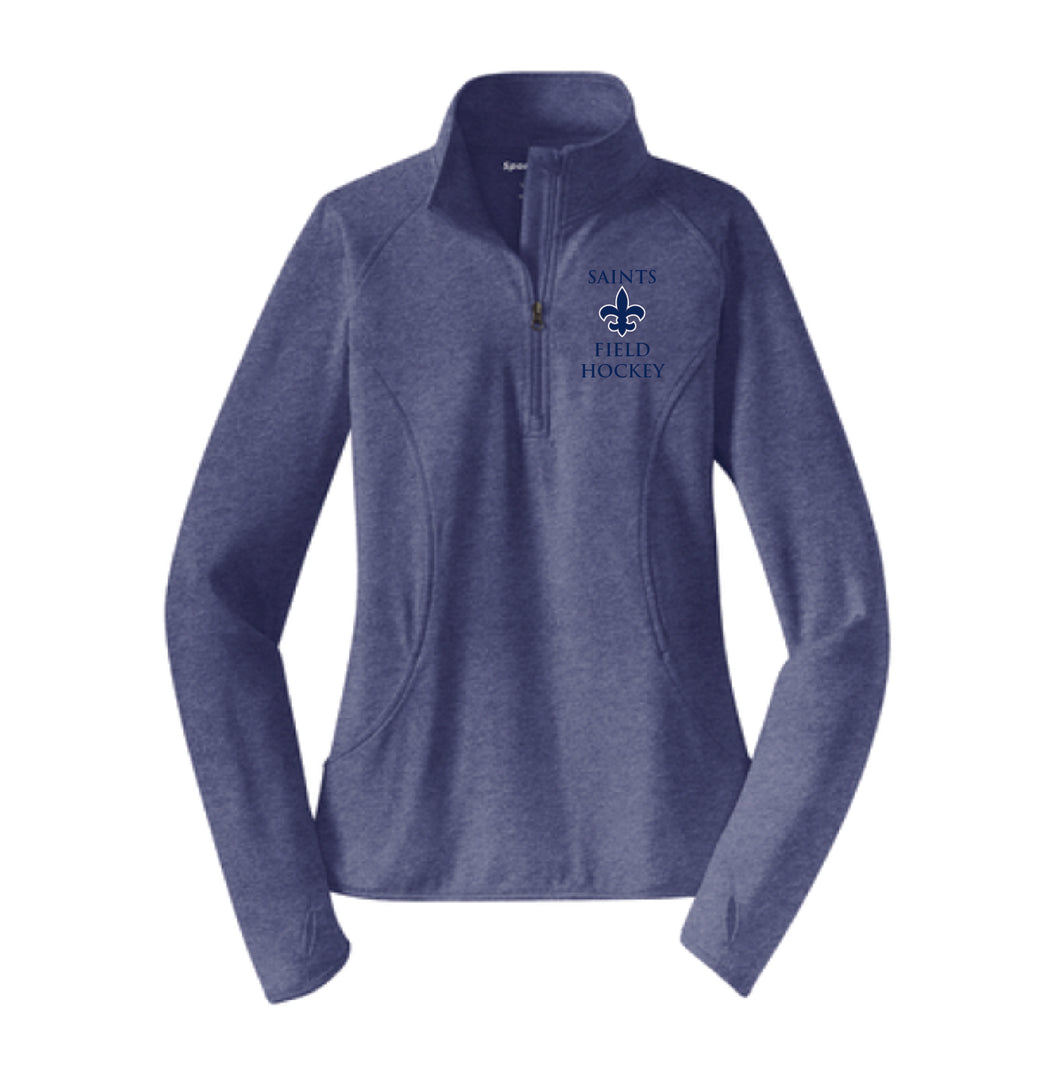 STA Field Hockey Dri-Fit 1/4 Zip Pullover Women's Cut EMBROIDERED LOGO