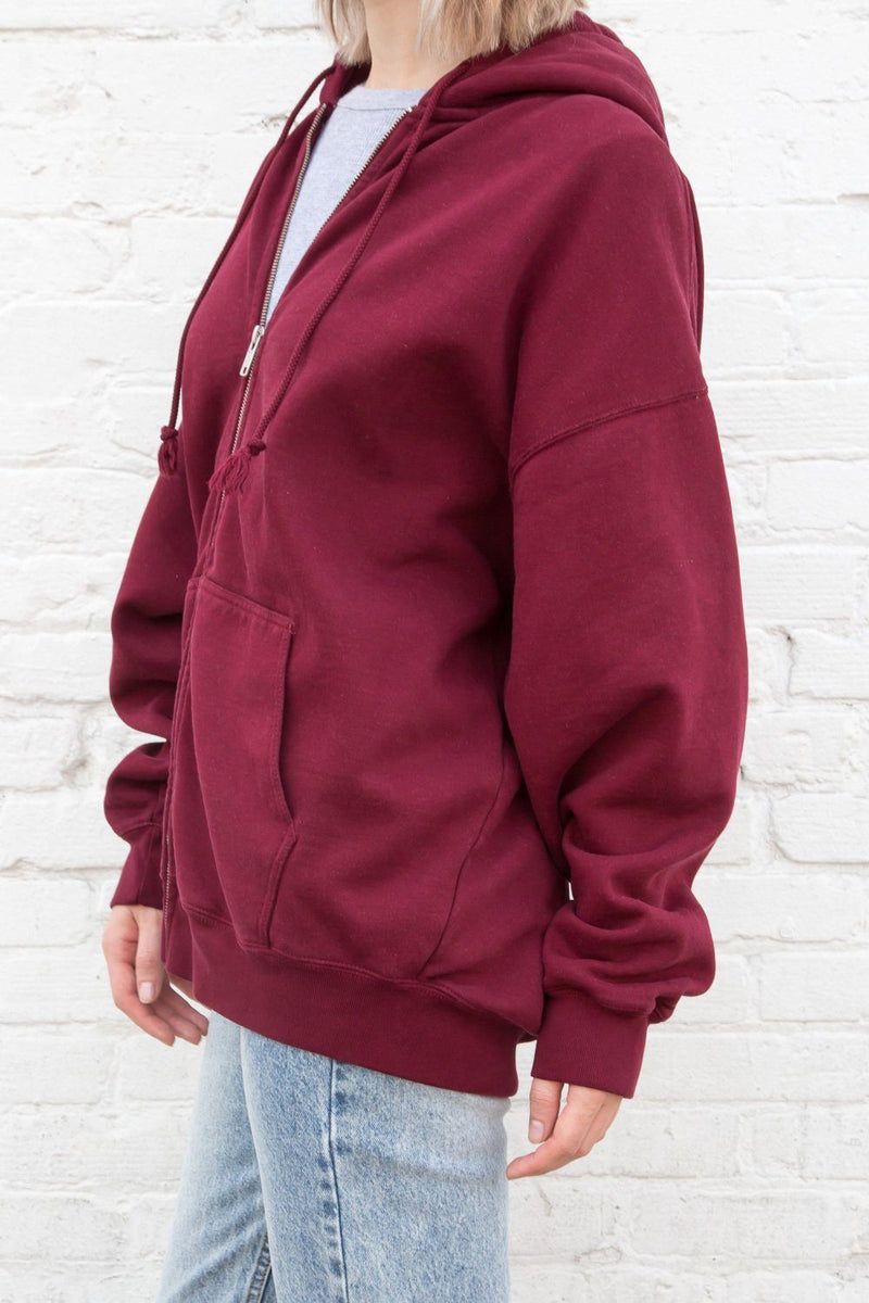 Dark Red / Oversized Fit