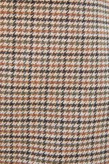 Tan Houndstooth / XS/S