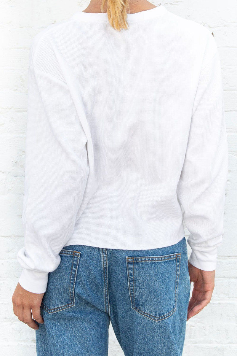 White / Cropped Fit