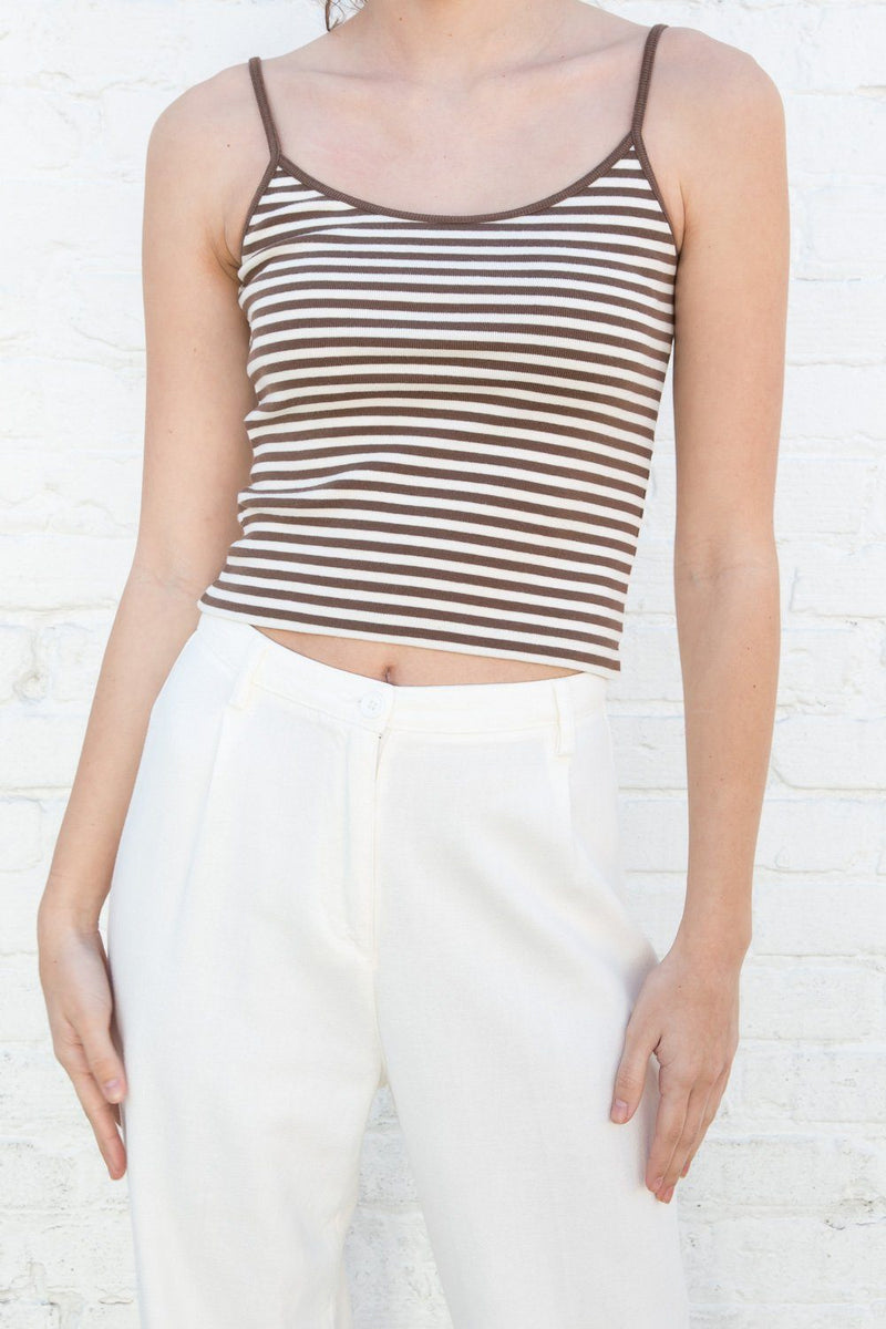Brown Ivory Stripes / XS/S