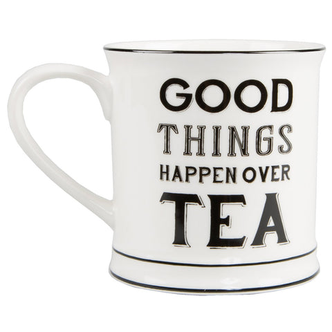 Good things happen over tea