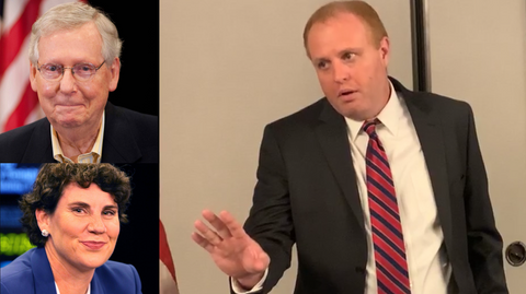 Libertarian Brad Barron to Debate Senator Mitch McConnell and Amy McGrath