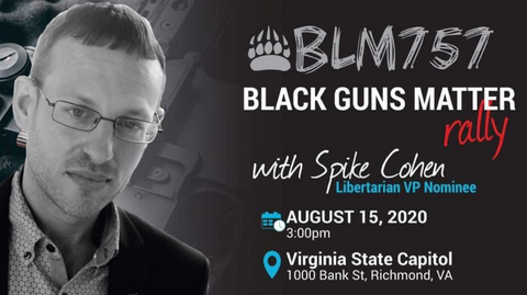 Spike Cohen to speak at Black Guns Matter Rally
