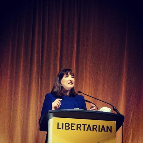 Libertarian Jorgensen to lawmakers: Protecting life, liberty, and property is your only job