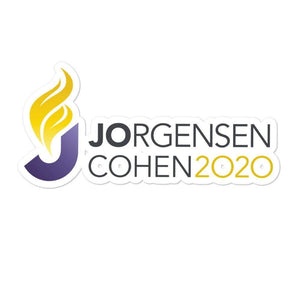 Jo Jorgensen For President 2020 Libertarian Bubble-free stickers 5 - Libertarian Candidates News and Merchandise