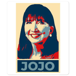Jo Jorgensen JOJO 2020 Icon Style Bubble-free stickers - Libertarian Candidates News and Merchandise