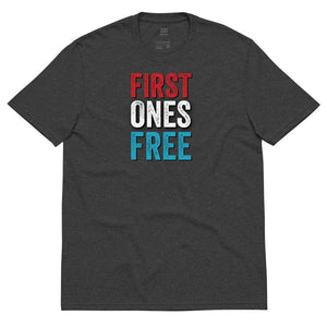 First Ones Free Libertarian 2020 Jo Jorgensen Unisex recycled t-shirt - Libertarian Candidates News and Merchandise