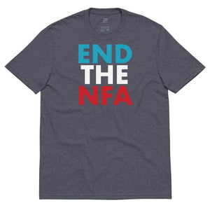 End The NFA Jo Jorgensen For President Unisex recycled t-shirt - Libertarian Candidates News and Merchandise