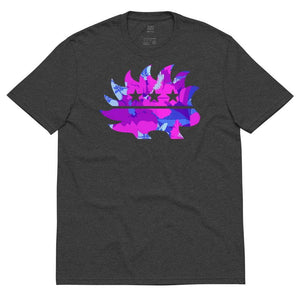 Hawaiian Luau Libertarian Porcupine Unisex recycled t-shirt - Libertarian Candidates News and Merchandise