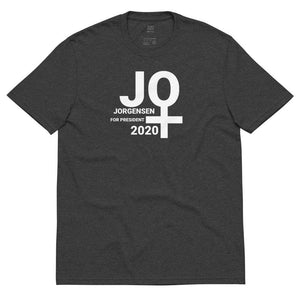 Jo Jorgensen For President 2020 Libertarian Unisex recycled t-shirt 10 - Libertarian Candidates News and Merchandise