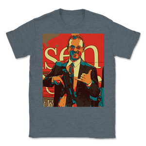 Spike Cohen Libertarian for Vice-President Icon Style Unisex T-Shirt - Libertarian Candidates News and Merchandise