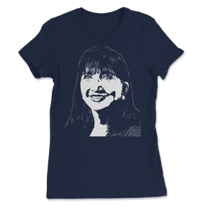 Jo Jorgensen Line Art Portrait Women's Tee - Libertarian Candidates News and Merchandise