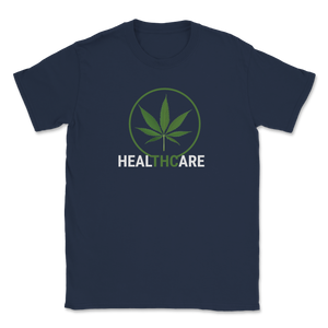 THC Healthcare, Legalize Marijuana Unisex T-Shirt - Libertarian Candidates News and Merchandise