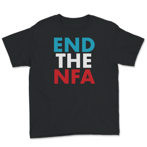 End The NFA Jo Jorgensen For President Youth Tee - Libertarian Candidates News and Merchandise