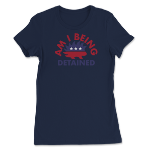 Am I Being Detained Libertarian Porcupine Women's Tee - Libertarian Candidates News and Merchandise