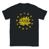 Libertarian Porcupine Betsy Ross Flag 13 Stars Yellow Unisex T-Shirt - Libertarian Candidates News and Merchandise