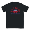 Am I Being Detained Libertarian Porcupine Unisex T-Shirt - Libertarian Candidates