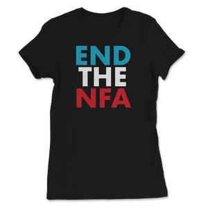 End The NFA Jo Jorgensen For President Women's Tee - Libertarian Candidates News and Merchandise