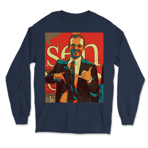 Spike Cohen Libertarian for Vice-President Icon Long Sleeve T-Shirt - Libertarian Candidates News and Merchandise