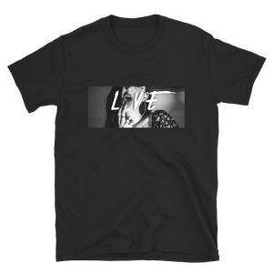 Badstyle, Brooke Oneil, LOVE, Black and White, graphic T-shirt