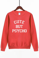 Moletom Feminino Cute But Psycho