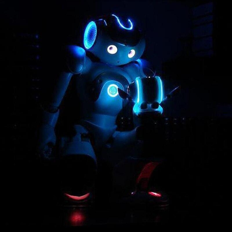 Smart Robot Toy Mini Fun Dancing Robot Toys Led Light Music Hyun Dance Robot Gift for Kids party Christmas gifts Drop Shipping