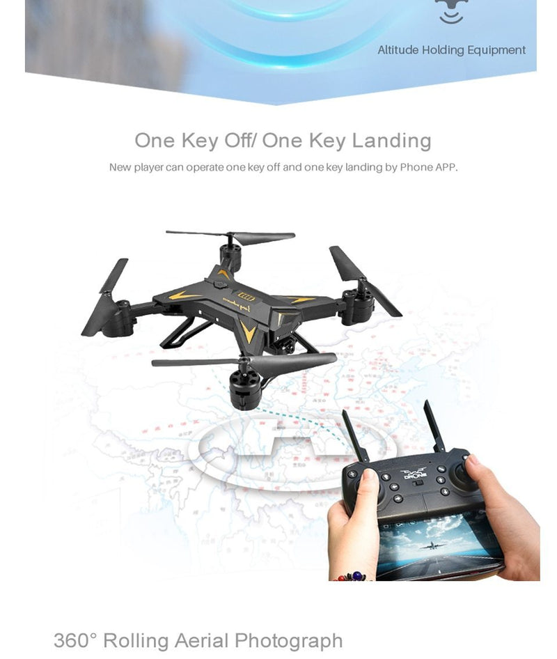 Drone camera hd 4k/1080p wifi fpv Scotpaly Quadcopter