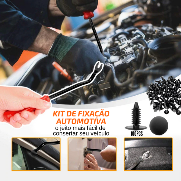 Car Master Fixer - Kit de Fixação Automotiva