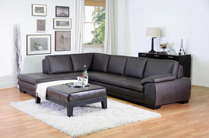 BAXTON STUDIO DIANA SOFA/CHAISE SECTIONAL - Exquisite Home Furnishings Powered by IEE Brothers LLC