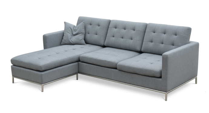 TAXIM SOFA/SECTIONAL CONVERTIBLE CHAISE