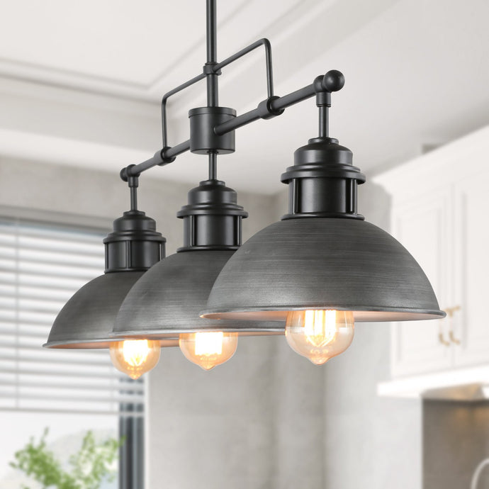 LINEAR POT LID PENDANT - 3 LIGHTS - Exquisite Home Furnishings Powered by IEE Brothers LLC
